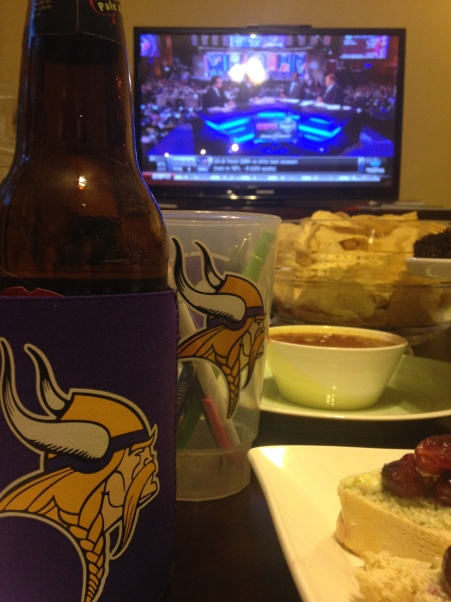 Proliferation of Vikings Paraphernalia and Johnny Football's Signature Chips and Salsa